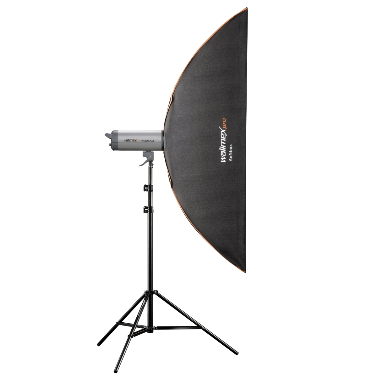 Walimex pro Softbox PLUS Orange Line 25x150