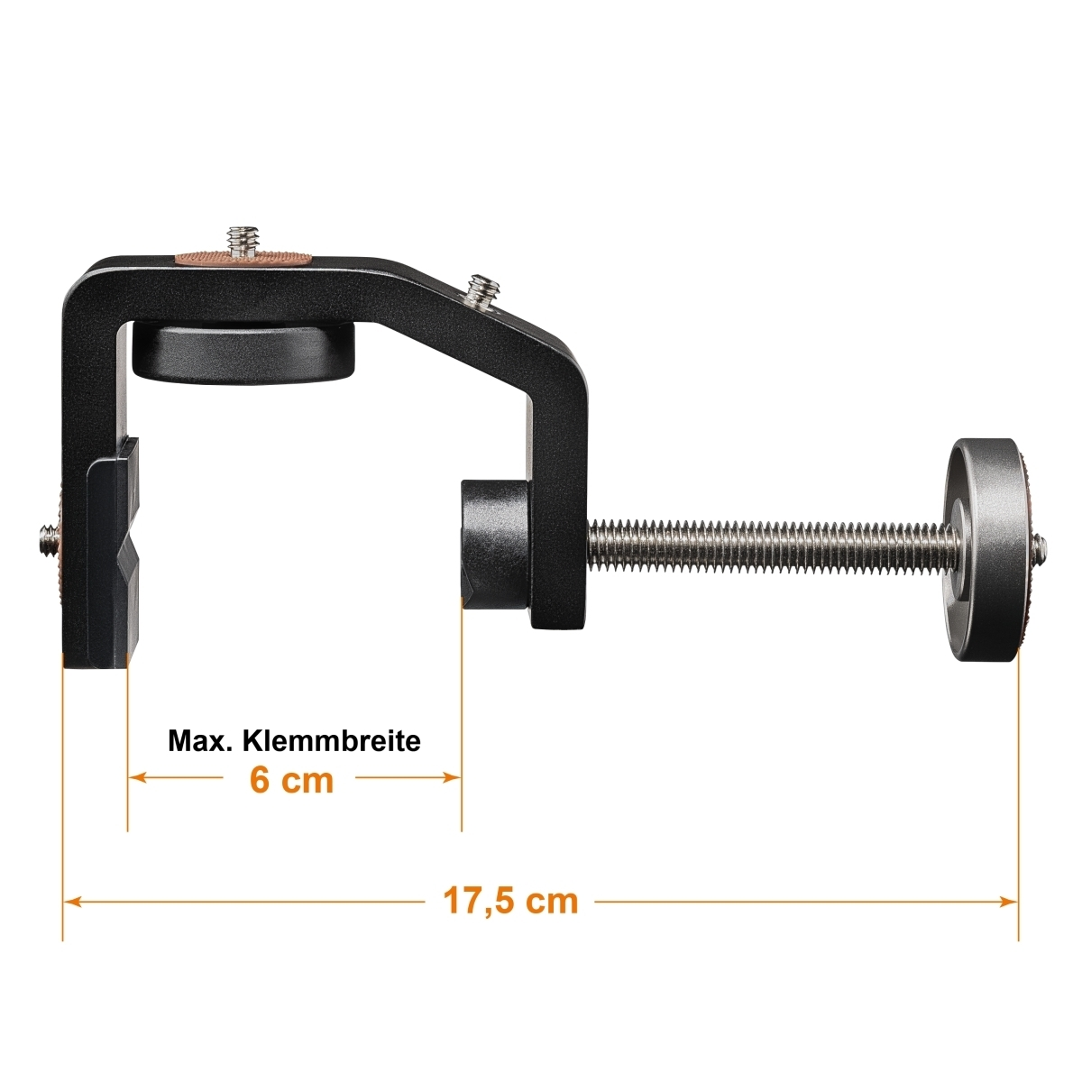 Mantona GoPro Tabletop Clamp Set