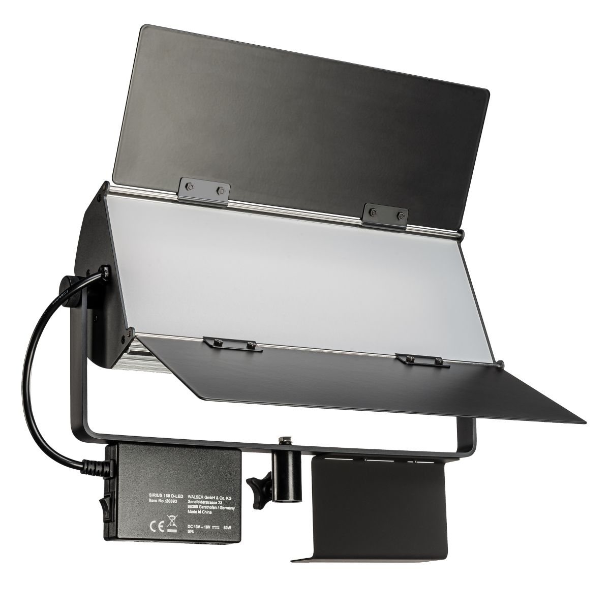 Walimex pro LED Sirius 160 Daylight 65W - Set inkl....