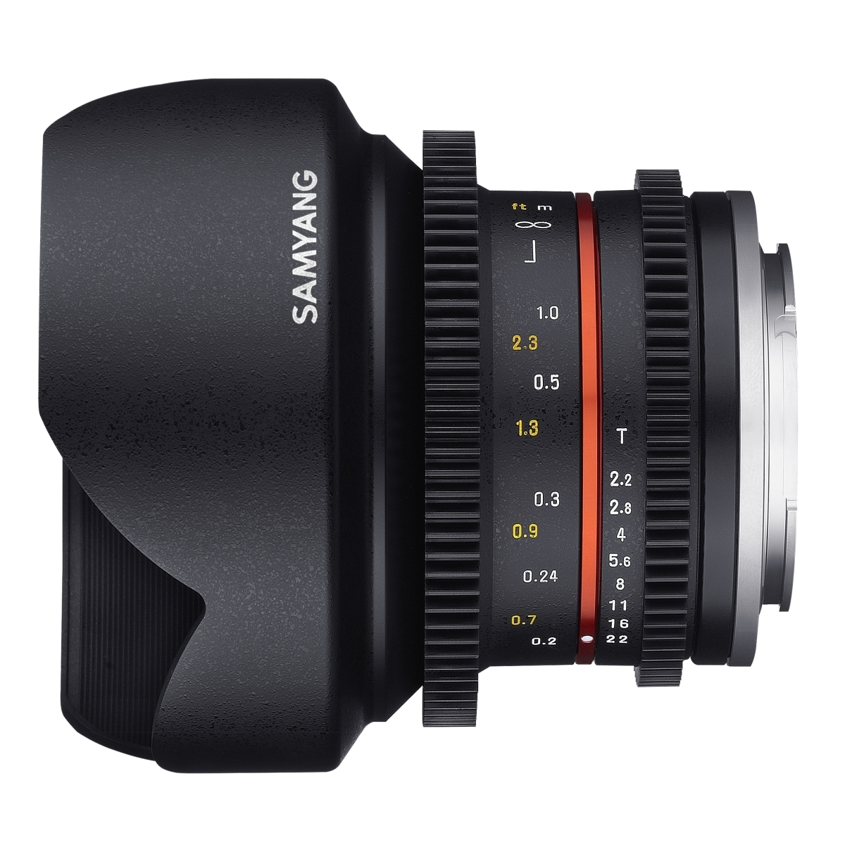 Samyang MF 12mm T2,2 Video APS-C Sony E