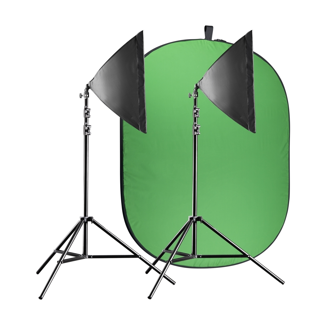 Walimex pro Video Greenscreen Set Einsteiger flexi