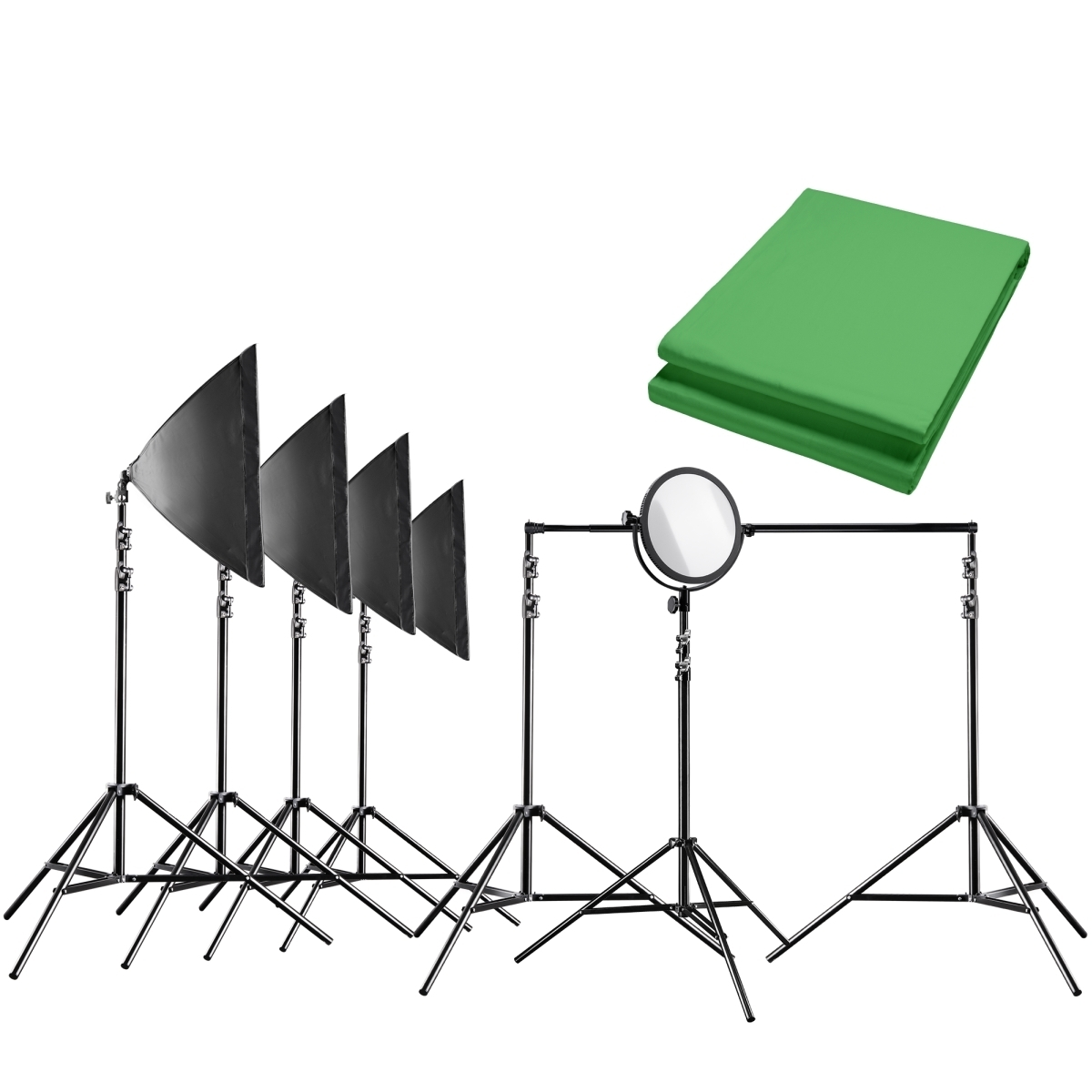 Walimex pro Video Greenscreen Set Profi