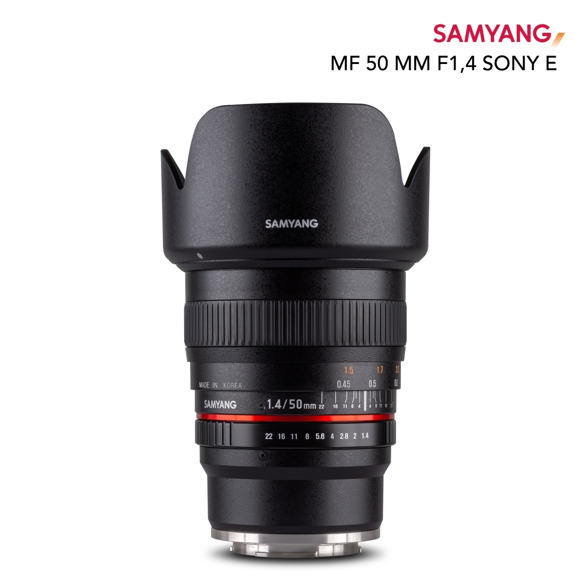 Samyang MF 50mm F1.4 Sony E