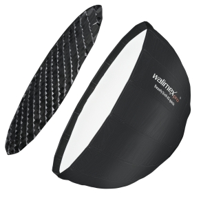 Walimex pro Studio Line Beauty Dish Softbox QA65 mit...